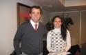 Rodrigo Castro y Romina Marín