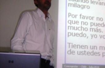 Sergio Postigo en Seminario UDD Concepción