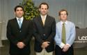 Juan Pablo Reveco, Rodrigo Castro y Andrés Meirovich
