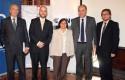 Fernando Lihn, José Ernesto Amorós, Irma Gutiérrez, Jaime Alé y Adrián Leguina