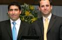 Juan Pablo Reveco y Rodrigo Castro