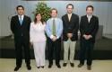 Juan Pablo Reveco, Marisol Troncoso, Andrés Meirovich, Rodrigo Castro y Francisco Santibáñez