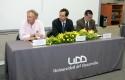 Felipe Cubillos, Rodrigo Castro y Goran Ahumada