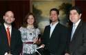 Ernesto Amorós, Erica Salvaj, Marcel Pérez y Rafael Romero