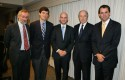 Cristóbal Philippi, Nicolás Shea, Ernesto Amorós, Andrés Concha y Rodrigo Castro