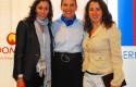 Raquel Freire, Olga Pizarro y Massiel Guerra
