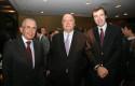 Carlos Cáceres, Fernando Flores y Guillermo Turner