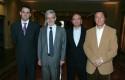 Rodrigo Castro, Juan Andrés Fontaine, Alejandro Giacaman y Gonzalo Silva.