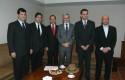 Pelayo Covarrubias, Raúl Alcaíno, Juan Andrés Camus, Juan Andrés Fontaine, Rodrigo Castro y Alejandro Giacaman
