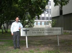 José Ernesto Amorós, director e investigador de la FEN