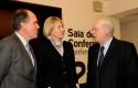 Jorge Lesser, Claudia Bobadilla y Eliodoro Matte