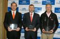 Los tres ganadores de  Premio Espíritu Emprendedor 2010