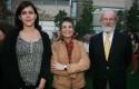 Soledad Ibáñez, Carmen Sofia y Norman Goijberg