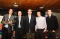 Matías Sjogren, Paul O´Toole, Rodrigo Castro, Nicolás Palacios y Diego Palacios