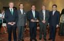 Federico Valdés, Gonzalo Menéndez, Guillermo Luksic, Hernán Buchi y Jean Paul Luksic
