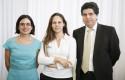 Claudia Blanco, Carola Moreno y Rafael Moreno