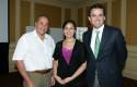 Bob Caspe, Ximena Romero y Rodrigo Castro