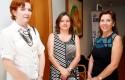 M. Elena Sierra, Bernardita del Solar y Virginia Leiva