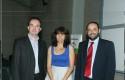 Paul O´Toole, Director Ejecutivo UDD Ventures, Dra. Paulette Conget, Directora Instituto de Ciencias y Carlos Varela, iCubo