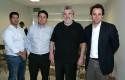 Marcel Pérez, Carlos Albornoz, Gabriel Palma y Rodrigo Castro