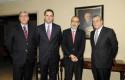 Cirilo Córdova, Rodrigo Castro, Rodrigo Valdés y Fernán Gazmuri