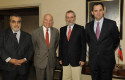 Enrique Correa, Vittorio Corbo, Cristóbal Philippi y Rodrigo Castro