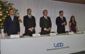 Cristián Cortés, Daniel Contesse, Federico Valdés, Rodrigo Castro y Marisol Troncoso