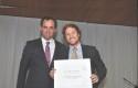El decano de la FEN Rodrigo Castro y Javier Juanet