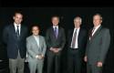 Rodrigo Castro, Marcelo Guital, Federico Valdés, Claudio Elgueta y Rolf Kühlenthal