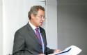 El rector de la UDD, Federico Valdés
