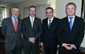 Cristóbal Philippi, Tomás Flores, Claudio Muñoz y Federico Valdés.