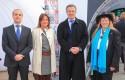Andrés Pesce, M.Ignacia Benítez, Ministra de Medio Ambiente, Federico Valdés y Hunter Lovins