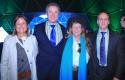M.Ignacia Benítez, Ministra de Medio Ambiente, Federico Valdés, Hunter  Lovins y Andrés Pesce