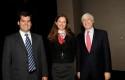 Pelayo Covarrubias, Paula Urenda y Mark Kramer
