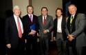 Mark Kramer, Federico Valdés, Mauricio Bustamante, Eduardo Romo y Michael Grasty