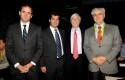 Rodrigo Castro, Pelayo Covarrubias, Mark Kramer y Carlos Eugenio Lavín
