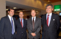 Pelayo Covarrubias, Rodrigo Santa María, Juan Benavides y Gonzalo Jiménez