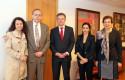 Massiel Guerra, Augusto López-Claros, Federico Valdés, Carolina Comandary y Olga Pizarro