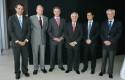 Rodrigo Castro, Dirk Leisewitz, Federico Valdés, Roberto Angelini, Diego Valenzuela y Carlos Eugenio Lavín