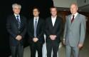 Carlos Eugenio Lavín, Diego Valenzuela, Felipe Kast y Dirk Leisewitz