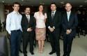 Pablo Valenzuela, Cristián Echeverría, Kathy Kuschel, Carlos Albornoz y José Ernesto Amorós