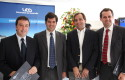 Juan Pablo Sweet, Pelayo Covarrubias, Matías Acevedo y Rodrigo Castro
