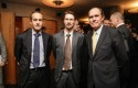 José Antonio Ferris, Rodrigo Castro, Martin Sandbu y Guillermo Turner