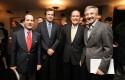 Juan Andrés Camus, Guillermo Turner, Jorge Lesser y Eduardo Chadwick