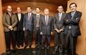 Tomás Muller, Jorge Lesser, Cristoph Schiess, Martin Sandbu, Felipe Larraín, Rodrigo Castro y Guillermo Turner