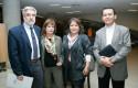 Rodrigo Rojas, Mónica Ronco, Érica Pavez y Felipe Aravena