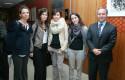 Alejandra Isbej, Marcela Jofré, Paulina Mena, Verónica Arriagada y Francisco Viza