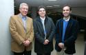 Miguel Ángel Soto, Rafael Romero y Carlos Poblete