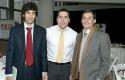 Carlos Perreau, César Sánchez y Micah Ortúzar