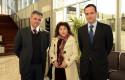 Oscar Ignacio Líbano, Sylvia Troncoso y Juan Eduardo Vargas